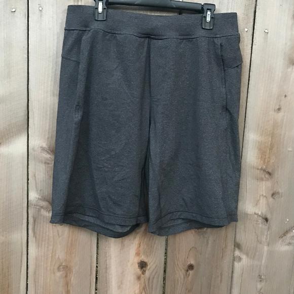 1e0157475 lululemon athletica Other - Men s Lululemon Charcoal Grey Gym Lounge Shorts